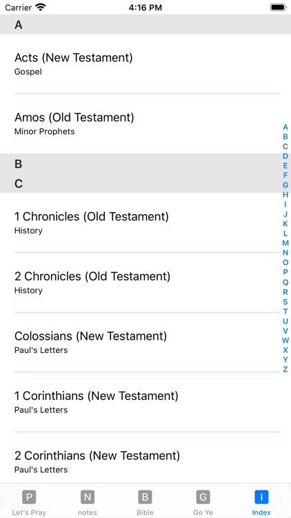 Holy Bible (ASV) screenshot-4