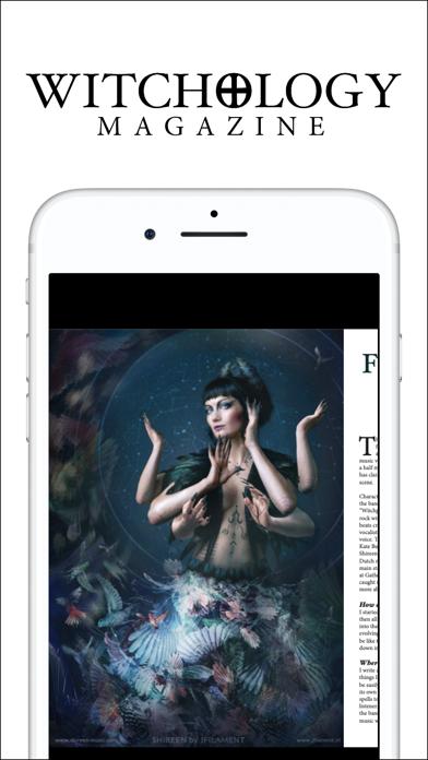 Witchology Magazine Screenshot