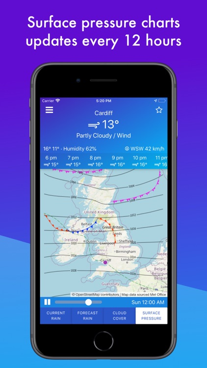 UK Weather Maps and Forecast