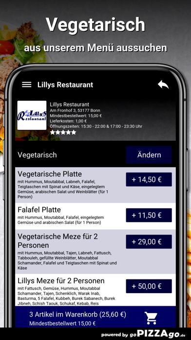 Lillys Restaurant Bonn screenshot 5