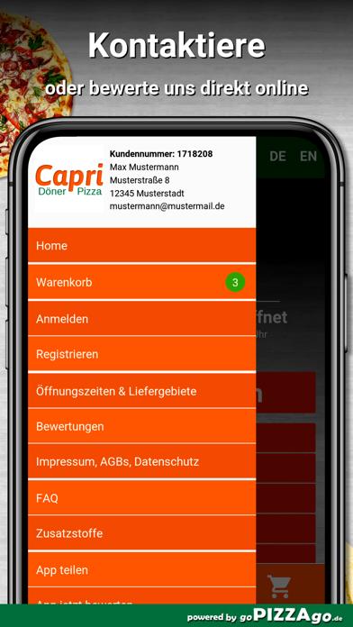 Capri Pizza Eckartsberga screenshot 3