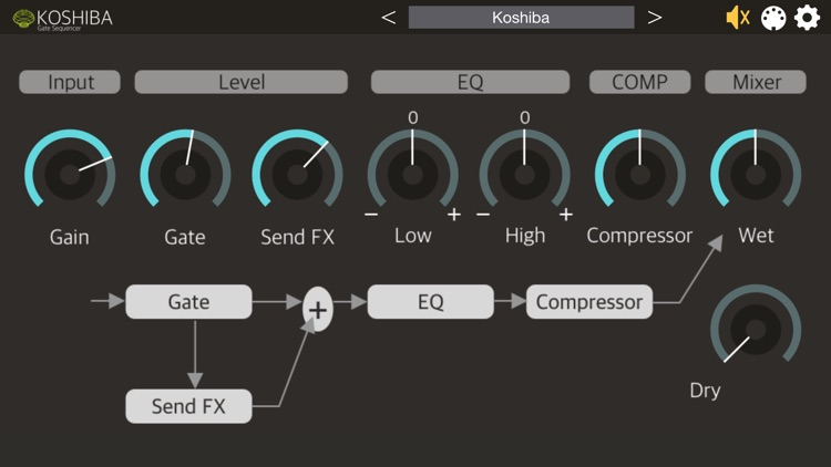 Koshiba - AUv3 Plugin Effect screenshot-3