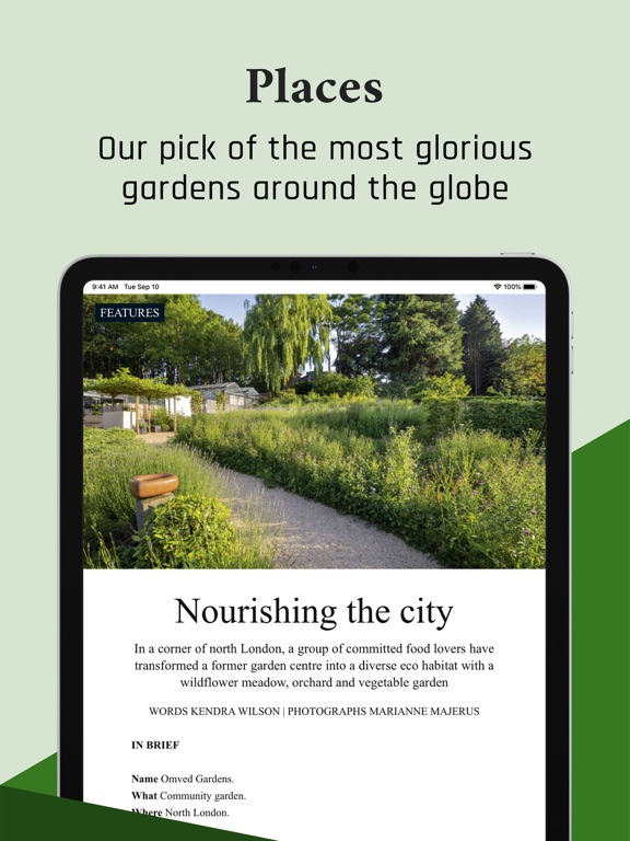 Gardens Illustrated - the style bible for garden designers and gardening enthusiasts screenshot
