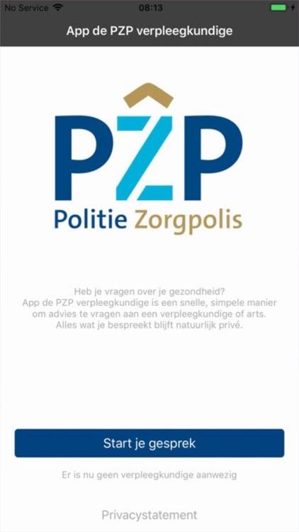 App de PZP verpleegkundige