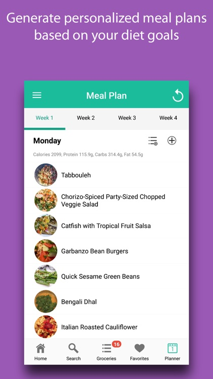 Diabetic Diet Recipes & Meals screenshot-5