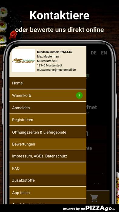 Restaurant King Men Berlin screenshot 3