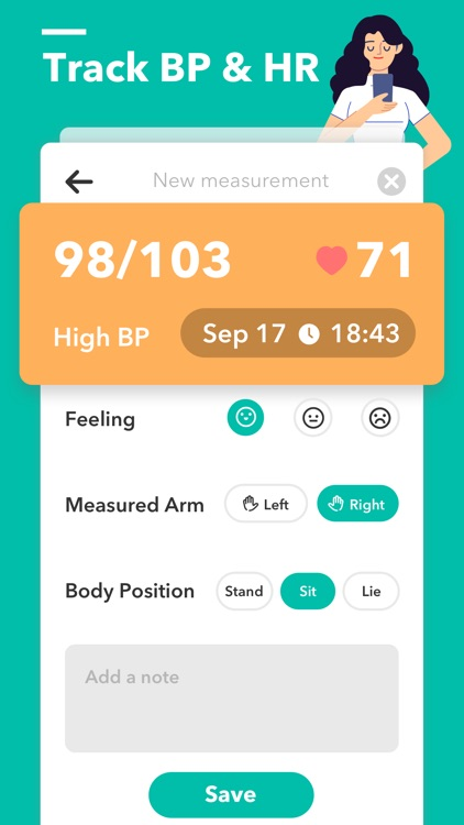 Blood Pressure App ++