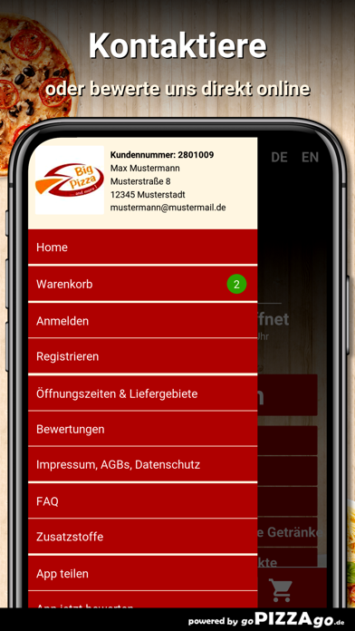 Big Pizza Bruckmühl screenshot 3