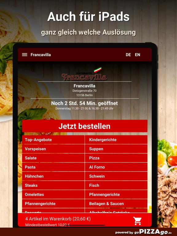 Francavilla Berlin screenshot 7