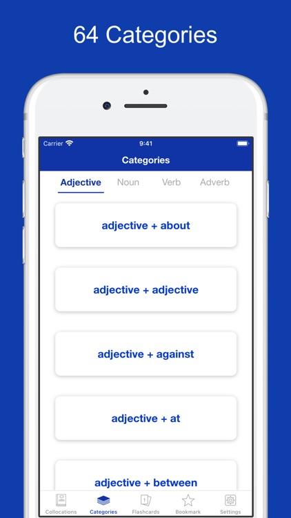 English Collocation Flashcards screenshot-5