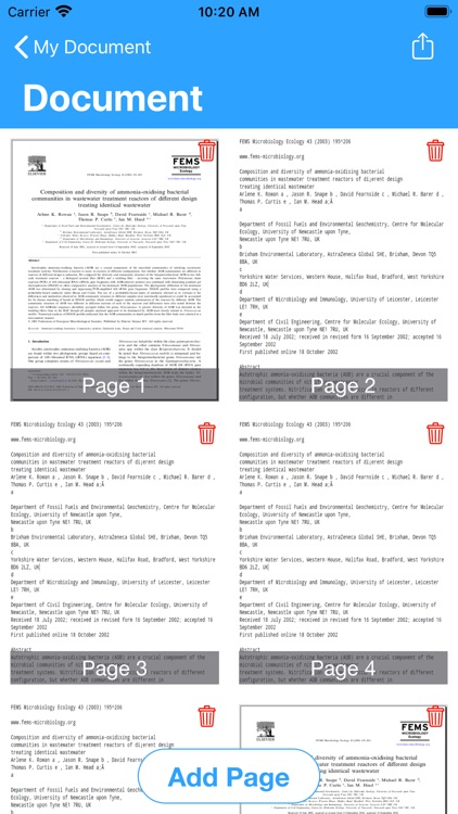 Scanner - PDF Document Scan! screenshot-3