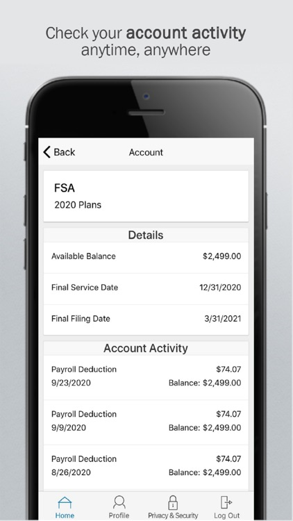 Benesys Inc HRA App screenshot-1