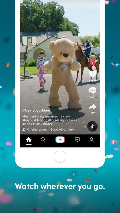 TikTok app image