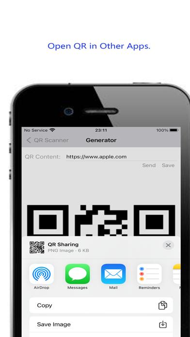 QRer Screenshot