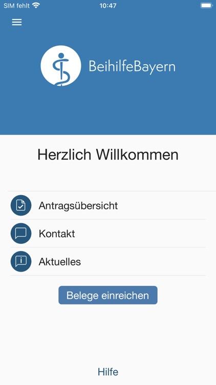Beihilfe Freistaat Bayern
