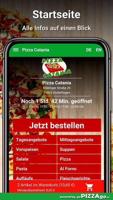 Pizza Catania Sindelfingen screenshot 2