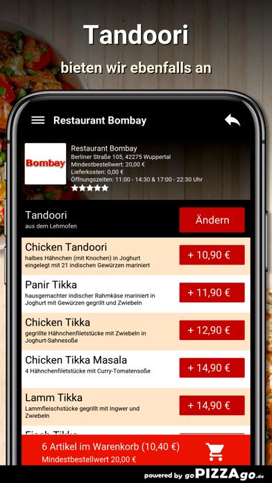 Restaurant Bombay Wuppertal screenshot 6