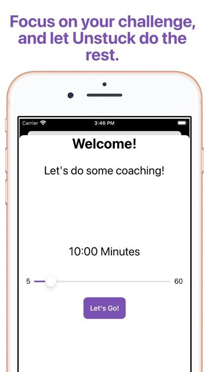 Unstuck - Coaching for Growth screenshot-5