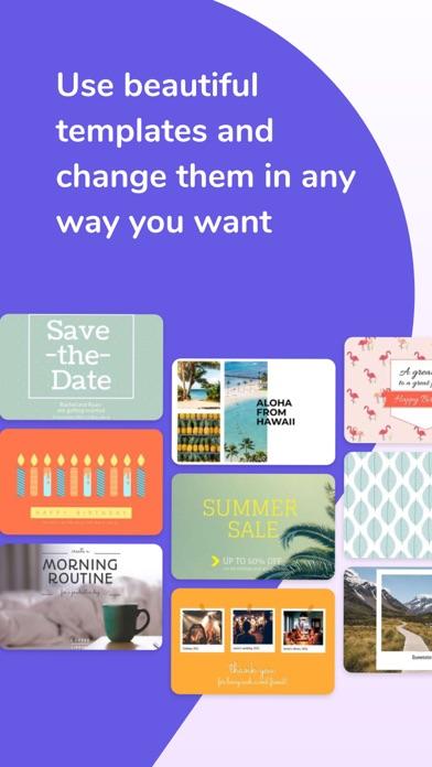 Desygnerによるポストカードメーカー紹介画像3