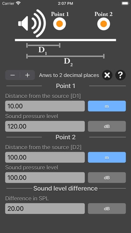Distance Attenuation Calc screenshot-7