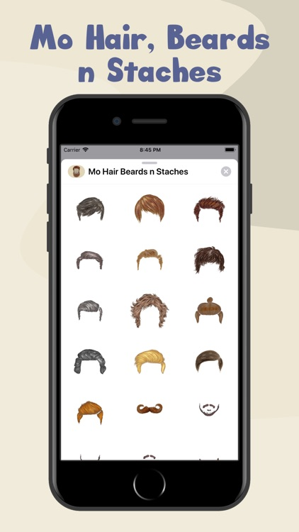 Mo Hair, Beards n Staches