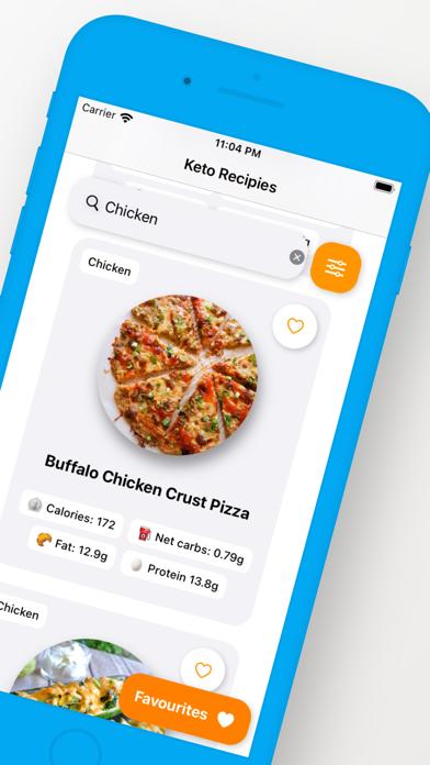 Keto Diet Recipes Screenshot