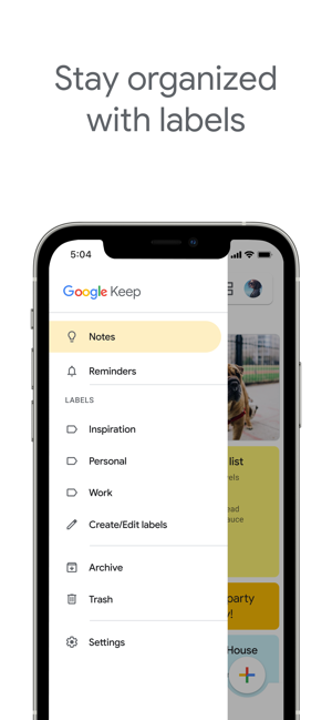 ‎Google Keep – Notizen & Listen Screenshot