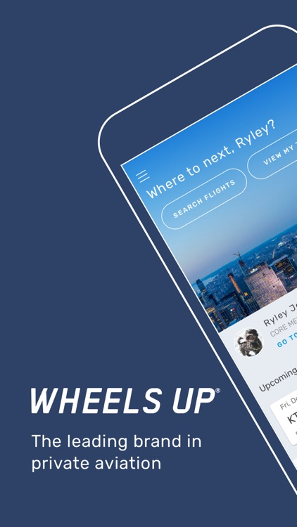 Wheels Up: Download & Fly Up™