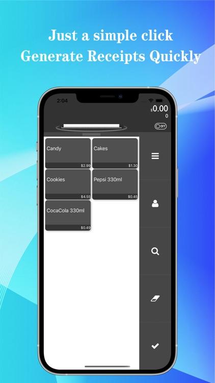 Tiny POS:Receipts Quick Maker screenshot-0