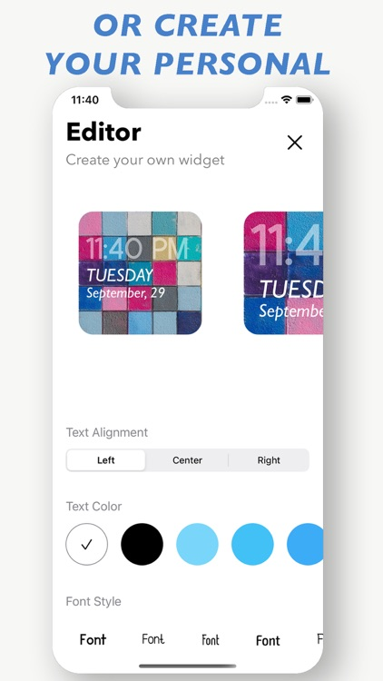 Color Themes & Widgets Custom screenshot-3