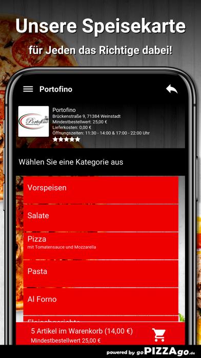 Portofino Weinstadt screenshot 4