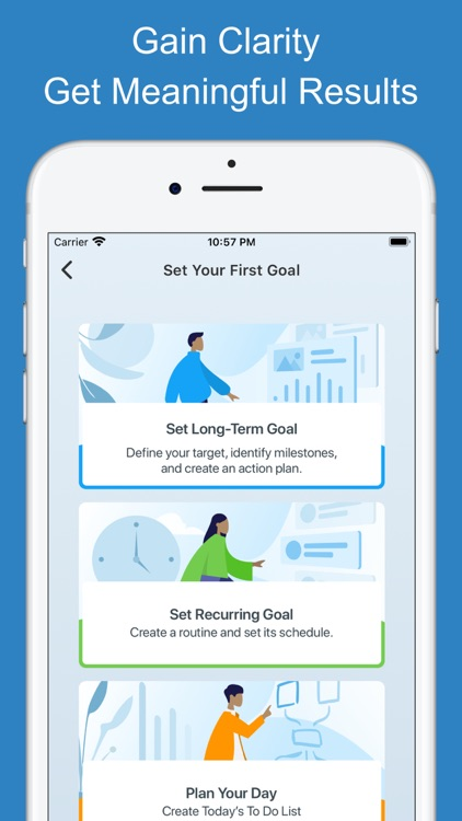 Goal Setting Tracker Planner screenshot-1