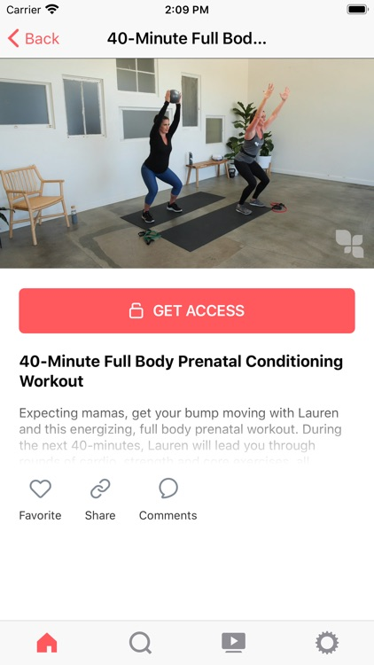 FIT4MOM On Demand