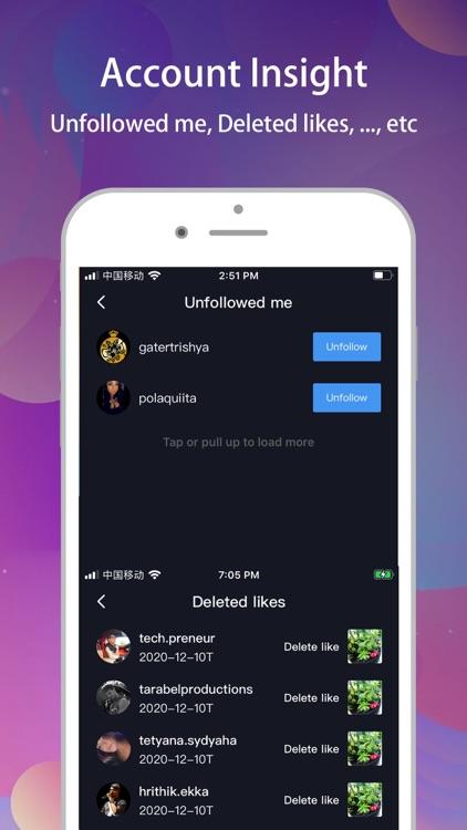 Reports+ for Instagram tracker screenshot-3