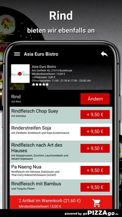 Asia Euro Bistro Buxtehude screenshot 6