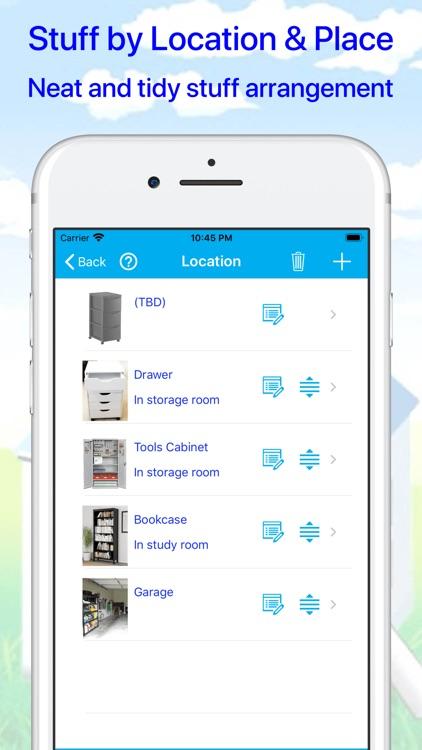 Where's my stuff - Keep & Find screenshot-5