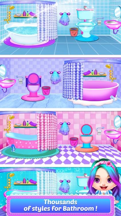 Baby Girls - Doll House Games! screenshot-5