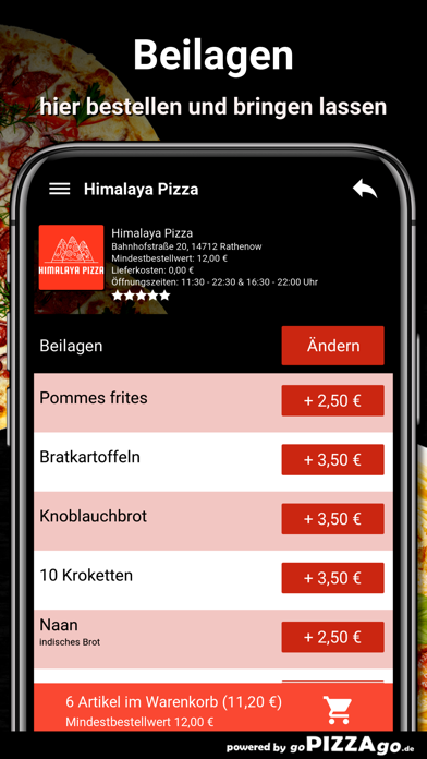Himalaya Pizza Rathenow screenshot 6