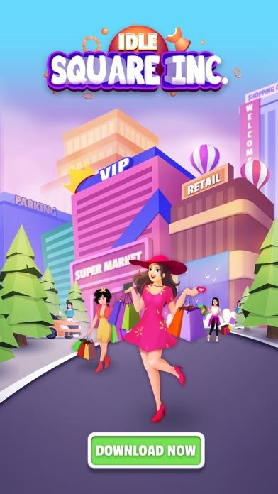 Idle Square Inc.: Mall Tycoon screenshot 1