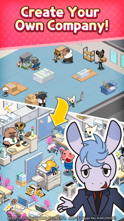 Aggretsuko :Sanrio Puzzle Game screenshot-3