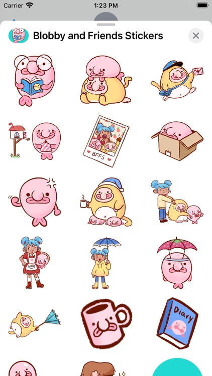 Blobby & Friends Stickers