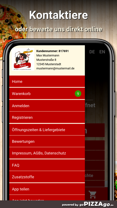 Adria Heimservice Homburg screenshot 3