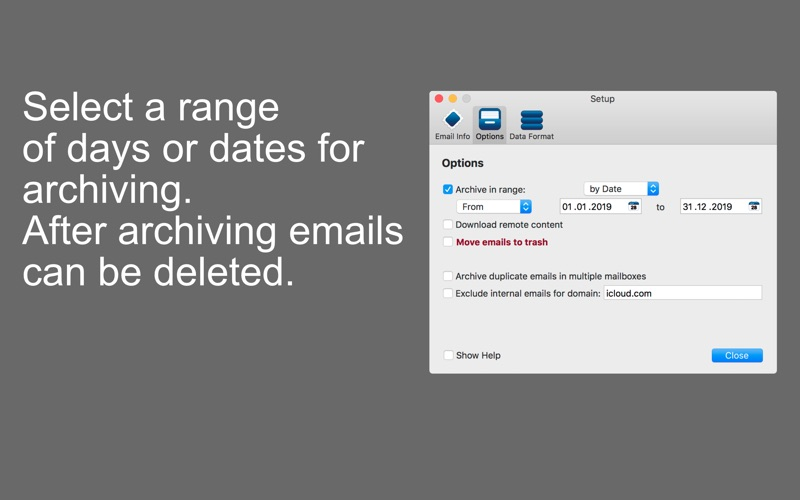 Mail Archiver X Easy