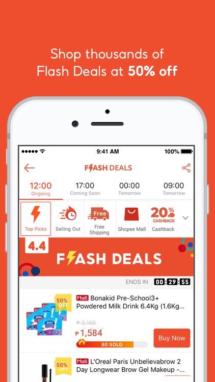Shopee 4.4 Mega Shopping Sale screenshot-4