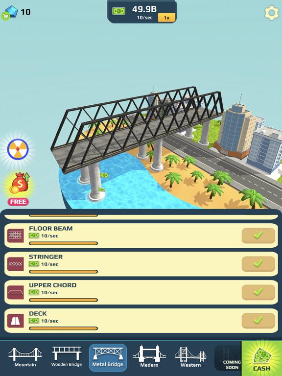 Idle Bridge Design screenshot 6