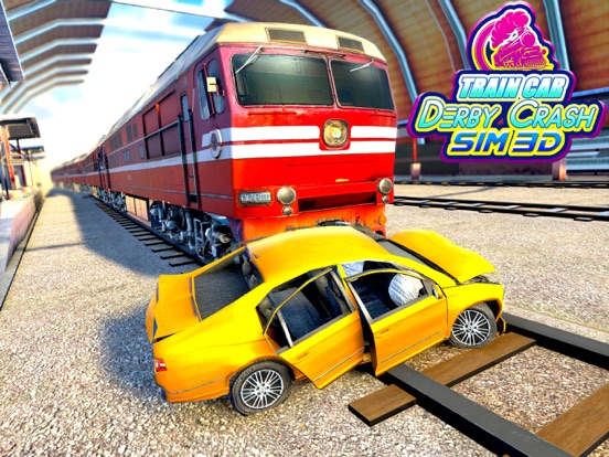 Train Car Derby Crash Sim 3D screenshot 5