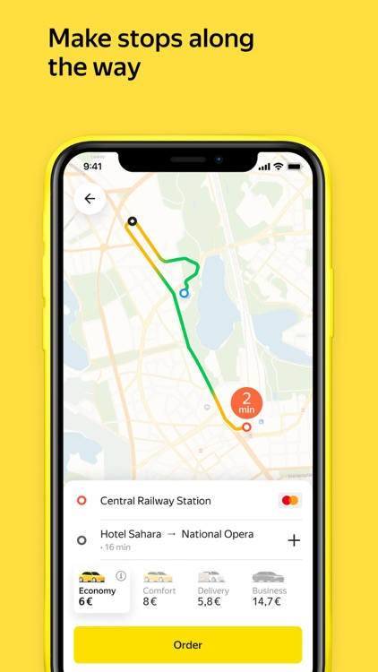 Yandex Go — taxi and delivery screenshot-4