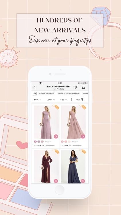 JJsHouse:Bridesmaid Dresses screenshot-6