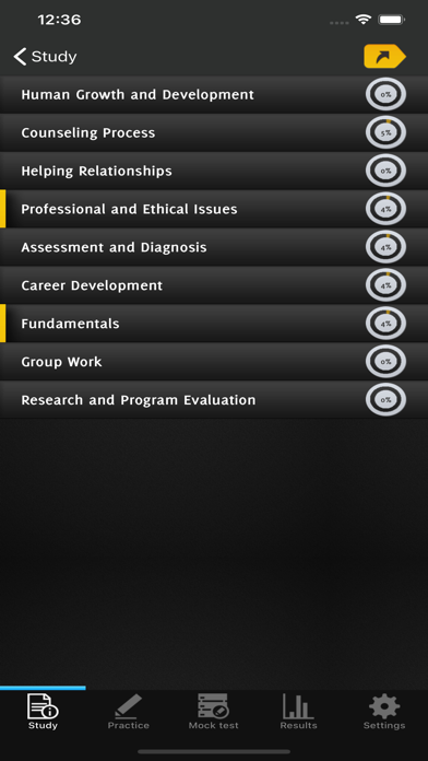 NCE Counselor Exam Practice - screenshot 5