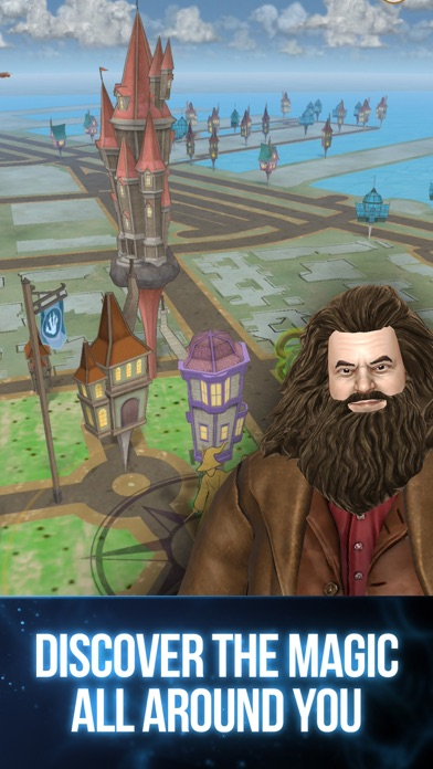 Screenshot from Harry Potter: Wizards Unite